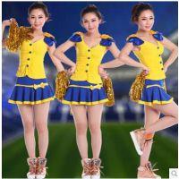 新款拉拉队服装演出服啦啦操服装表演服啦啦队服女健身操ds舞台