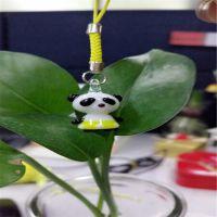 小清新 玻璃小熊猫 挂件客厅创意简约小熊猫厂家直销 小熊猫 玻璃