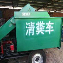 在牛舍用柴油刮粪车 润丰 液压升降装卸粪污清粪车