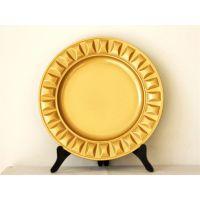 创意优质pp塑料盘塑料餐具,格子装饰,节日用品,YF-60868赣州一手货源