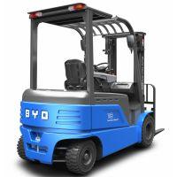 比亚迪电动叉车四轮叉车平衡重CPD20锂电池免维护厂家直销