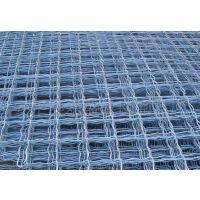 嘉峪关1.5*4米一片镀锌美格网护栏——8*8cm焊接菱形铁丝网定做【工期5天】