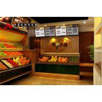 合肥水果店装修绿色健康可口诱人