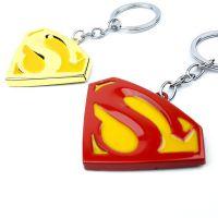 汽车钥匙扣 Superman超人S标志金属创意挂件