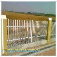 白色PVC塑钢护栏 花园草坪围栏 PVC塑钢绿化带市政园林护栏批发