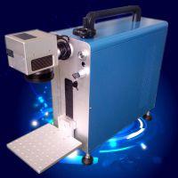 5G手机壳金属导电位IPG激光打标机