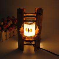 日式杂货木质复古台灯气氛场景书柜装饰品厂家直销一件代发