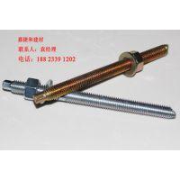 化学锚栓规格M12*160mm 热镀锌化学螺杆现货供应