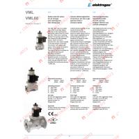 意大利Elektrogas VML系列气体安全电磁阀 原装进口