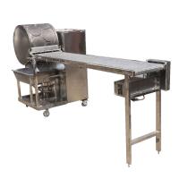 厂家定制仿手工圆形春卷皮机,春卷皮机多少钱一台;操作更简单