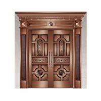 华旺铜门 铸铝门 铝艺栏杆 院墙门