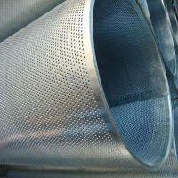 镀锌冲孔板 铁皮冲孔板 铁板冲孔网 长圆孔冲孔网