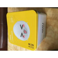便携式马口铁盒 新款口罩盒 金属罐防潮可定制 铁盒生产厂家