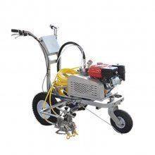 SQHX-Z手推式双枪划线机 天德立大流量隔膜泵双枪划线机