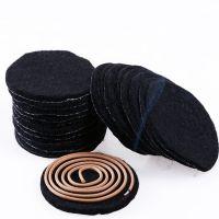 沉檀香炉阻燃棉 香道用品专用防火棉 香炉垫 黑色铝箔防火棉