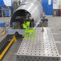 供应焊接机器人专用三维柔性焊接工作平台 螺旋万向压紧器锁紧销