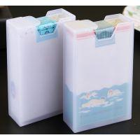 JSH创意烟盒20支装便携超薄透明塑料烟盒套软盒烟壳香菸烟盒简单