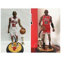 NBA 篮球明星 公牛队91号 丹尼斯 罗德曼 素体 可动手办模型批发
