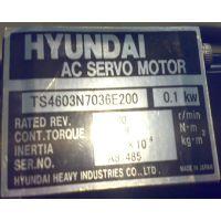 现代电机HYUNDAI HEAVY INDUSTRIES TS4603N7036E200 0.1KW
