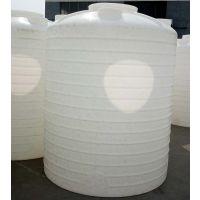 5吨PE水塔 5立方塑料水箱5000L水塔化工桶防腐储罐耐酸碱储罐