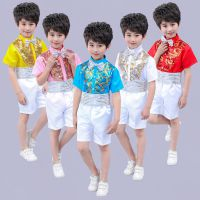 六一儿童舞蹈演出服中小学生合唱团诗歌朗诵表演礼服幼儿跳舞服装