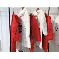杭州品牌女装俪茹羽绒服长款不带毛领特价反季促销女装一手货源批发