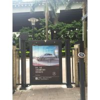广州社区广告珠江新城小区灯箱广告投放优势及价值案例