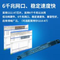 新品1U机架式ROS爱快/维盟6网口工控软路由3865U酷睿7500U防火墙