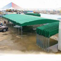 西安厂家定制户外移动雨棚活动仓库帐篷伸缩夜宵排挡雨篷