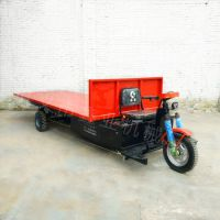 太原供应大平板电动车 电动三轮平板搬运车 厂区拉货电动三轮车