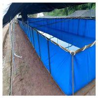 活动帆布鱼池-室内养殖帆布水池-户外养殖鱼池-帆布鱼池