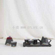 十境OTlife套装茶具新中式家居样板间酒店软装摆件茶具新品茶具