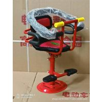 电动车踏板儿童座椅高低可调前置婴儿小孩宝宝电瓶车摩托车座椅