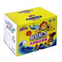 美阳阳36色超轻粘土3d彩泥橡皮泥套装无毒太空泥儿童玩具
