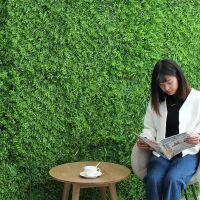 JSH仿真植物墙草坪地毯绿植墙体假草皮阳台草绿化装饰绿色植物背