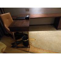 森美源定制酒店宾馆客房出租屋公寓标间全套简约家具床架电脑桌子