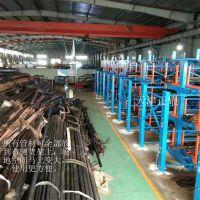 机加工管材货架存放4米、6米、12米的不同管材 伸缩式省空间好存取