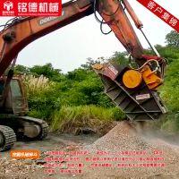 安徽mb90进口破碎铲斗 挖机破碎斗 岩石粉碎 移动式石子加工