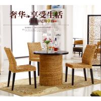 厂家直销休闲阳台藤椅茶桌椅三件套组合咖啡厅海南藤椅家具批发