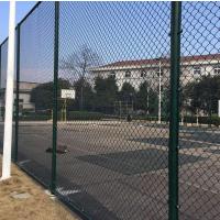 球场围网护栏网 吉林电厂勾花围栏 热镀锌勾花护栏网厂家