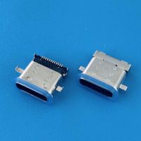 防水TYPE-C沉板1.1mm母座/24PIN/DIP+SMT/USB 3.1双壳点胶/防溅射