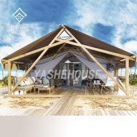 两层星空豪华露营帐篷-轻钢结构木屋别墅-酒店帐篷-景区营地住宿-房车营地穹顶星空帐篷