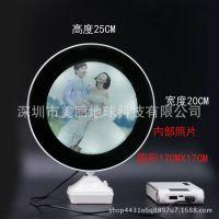 魔镜台灯相框 创意多功能LED台灯镜子影楼礼品USB充电台灯发光镜