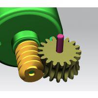 大扭力高速电动拖把拖地机静音减速齿轮箱设计,专业设计塑料GEAR