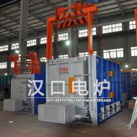 全纤维燃气台车炉-温控稳定安全-汉口电炉