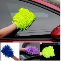 厂家直销 雪尼尔洗车手套 擦车手套 清洁手套一件起批