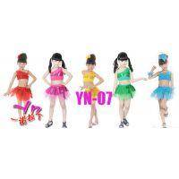 六一儿童节学生舞蹈服装幼儿拉丁舞亮片纱裙女童表演舞台演出服女