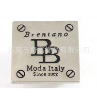 专业生产 高档抹自干漆箱包配件 各种家具标牌定做 可定做LOGO