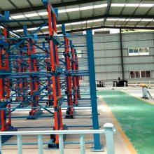 江苏大型管材存取 正耀伸缩式管材货架优点 存取直接利用行车