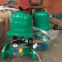 常开式衬胶气动隔膜阀 G6K41J-6/10C DN125 铸钢气动隔膜阀规格参数尺寸型号
